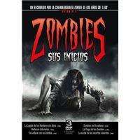 Pack Zombies - Sus inicios Vol. 1 - 3 DVD