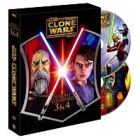 The Clone Wars - Temporada 1 - Volúmenes 3 y 4 - DVD