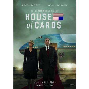 House of CardsHouse Of Cards  Temporada 3 - DVD