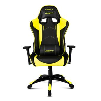 Silla Gaming Drift DR300 Negro - Amarillo