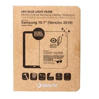 Protector de pantalla SilverHT Cristal templado para Samsung Galaxy Tab A 2019