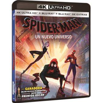 Spiderman. Un nuevo universo - UHD + Blu-Ray