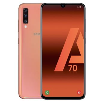 Samsung Galaxy A70 6,7'' 128GB Coral