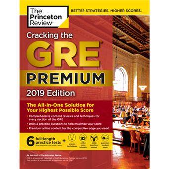Cracking the GRE Premium 2019