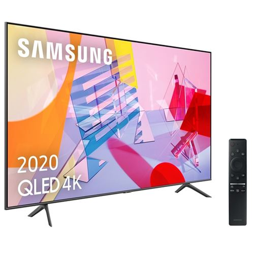 Tv qled 50'' samsung qe50q60t 4k uhd hdr smart tv