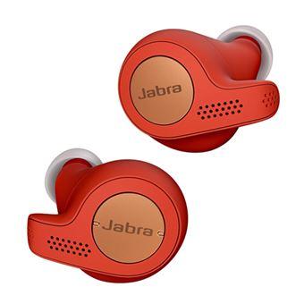 Auriculares Noise Cancelling Jabra Elite Active 65t Cobre/Rojo