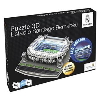 Puzzle Estadio Santiago Bernabéu 3D LED