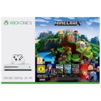 Xbox One S 500GB + Minecraft Complete Adventure