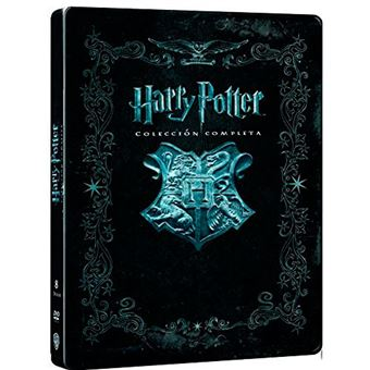 Harry Potter: Colección completa - Steelbook DVD