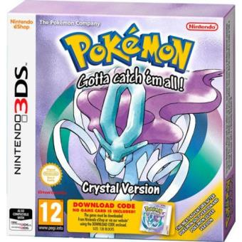 Pokémon Crystal (Tarjeta de descarga) Nintendo 3DS