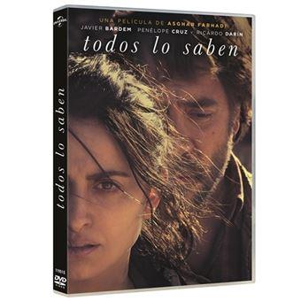 Todos lo saben - DVD