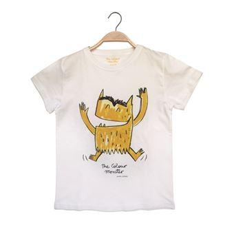 Camiseta Monstruo Amarillo Talla 6