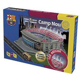 Puzzle Estadio Camp Nou 3D LED