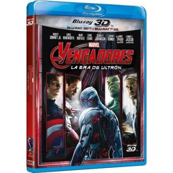 Vengadores: La Era de Ultrón - Blu-Ray + 3D