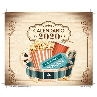 Calendario 2020 365 Días de peliculas
