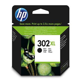Cartucho de tinta HP 302XL Negro