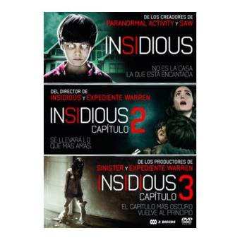 Pack Insidious - DVD