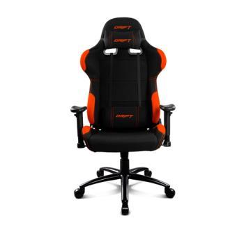 Silla Gaming Drift DR100 Negro - Naranja