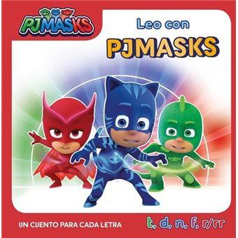 Pj Masks - Un cuento para cada letra: t, d, n, f, r/rr
