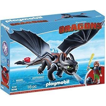 Playmobil Dragones Hipo y Desdentao