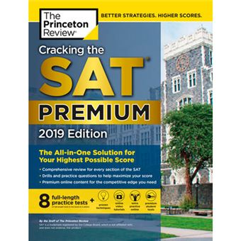 Cracking the SAT Premium 2019