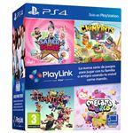 PlayLink 4 Juegos Saber es poder - Chimparty - Frantics - Melbits World PS4