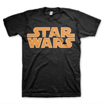 Camiseta Star Wars Logo Clásico Talla M