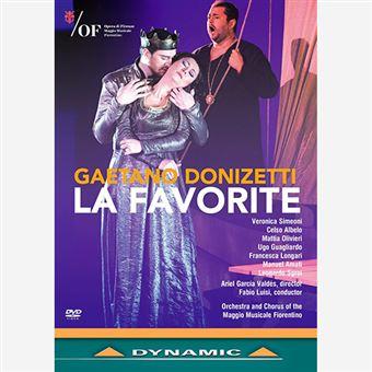 Donizetti - La Favorite - DVD