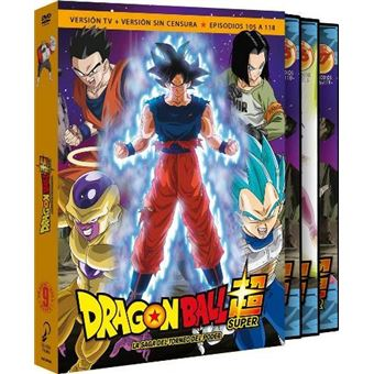 Box Dragon Ball Super 9 Ep 105 a 118 - DVD