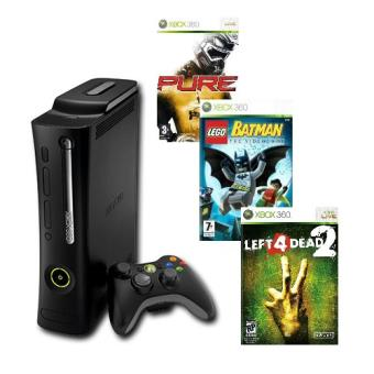 Xbox 360 Elite Left 4 Dead 2 Pure Lego Batman Consola Los