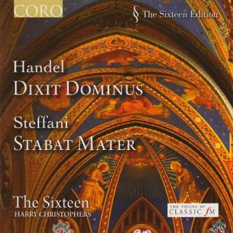 Handel - Dixit Dominus / Steffani - Stabat Mater
