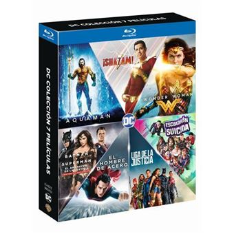 DC Colección - 7 películas - Blu-Ray