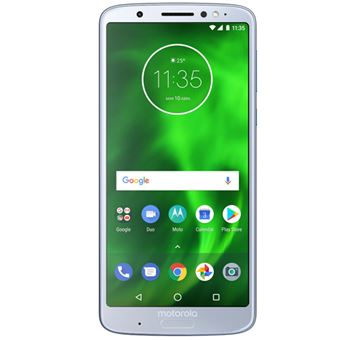 Motorola Moto G6+ 5,9'' 64GB Plata