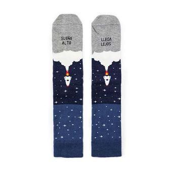 UO Calcetines Sueña alto llega lejos Cohete – Talla 39 - 42