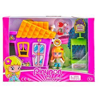 Pinypon Minicasita con tienda de cupcakes y figura