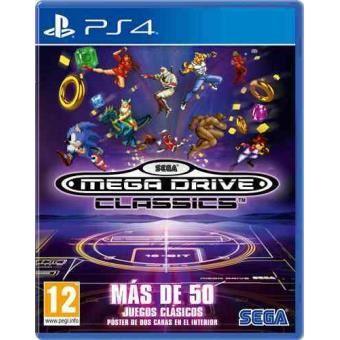 Sega Mega Drive Classics Ps4 Para Los Mejores Videojuegos Fnac