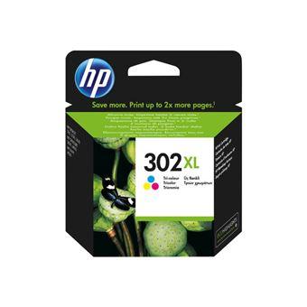 Cartucho de tinta HP 302XL Tri-color