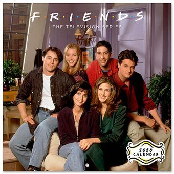 Calendario de pared 2020 Erik 30x30 multilingüe Friends - The TV Series
