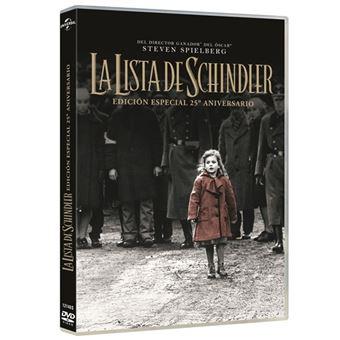 La Lista de Schindler - Ed especial 25 aniversario - DVD