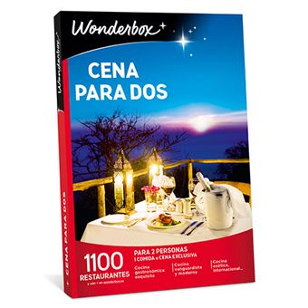 Caja Regalo Wonderbox - Cena para dos