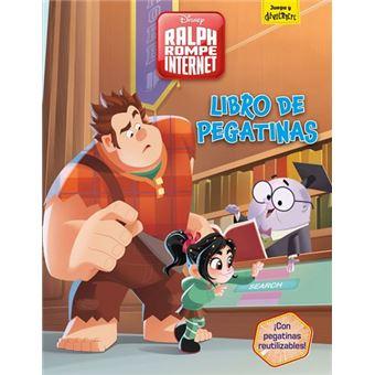Ralph rompe internet -  Libro de pegatinas