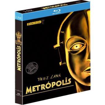 Metrópolis   Ed Especial restaurada - Blu-Ray