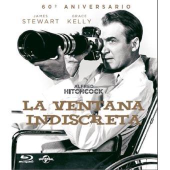 La Ventana Indiscreta Blu Ray Alfred Hitchcock James Stewart