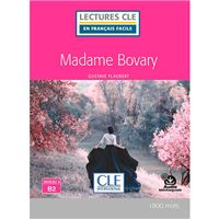 Lectures CLE en français facile - Madame Bovary + audio online