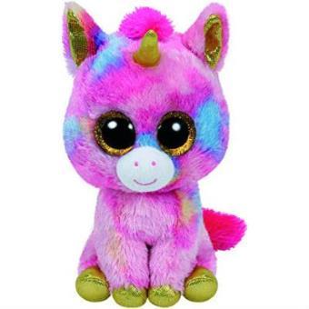 Peluche Beanie Boss Unicornio Fantasia Cumpleaños 8 de mayo