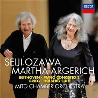 Beethoven: Piano Concerto No. 2, Grieg: Holberg Suite