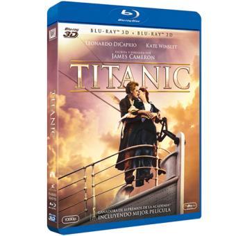Titanic - Blu-Ray + 3D