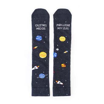 UO Calcetines Mágicos para llegar muy lejos Solar Sistem – Talla 35 - 38