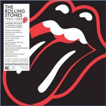The Rolling Stones 1964-1969 Ed Remasterizada Super Deluxe - Vinilo