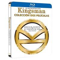 Pack Kingsman 1-2  Ed Black Metal - Blu-Ray